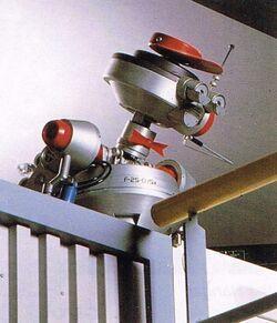 Spacecap droid