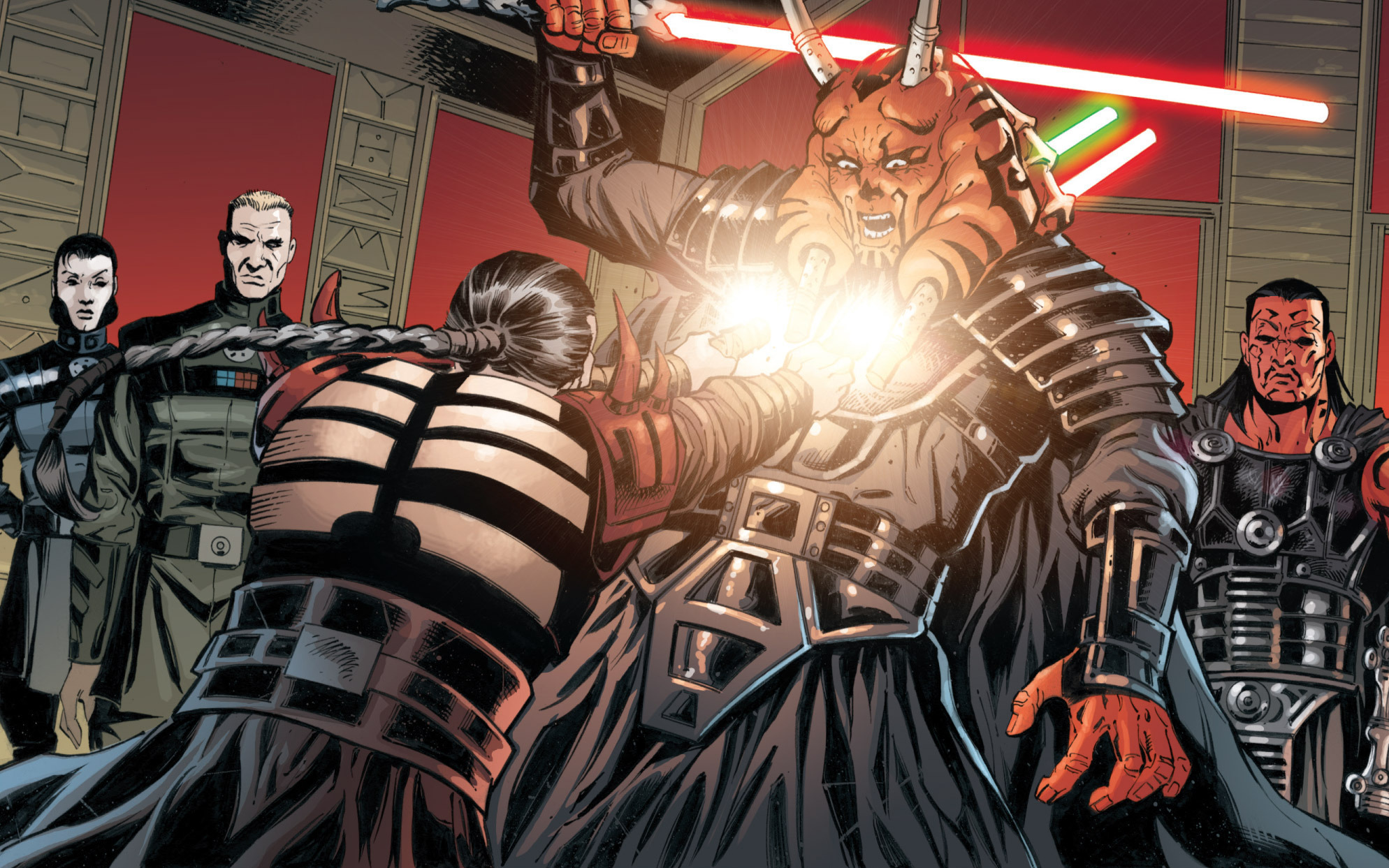Darth Krayt vs Darth Wyyrlok Darth Wyyrlok Iii Perishes in
