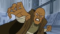 Mace Windu using Force Crush