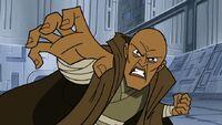 Mace Windu using Force Crush
