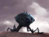 Recon droid walk