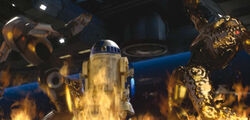 Artoo lights up B2s