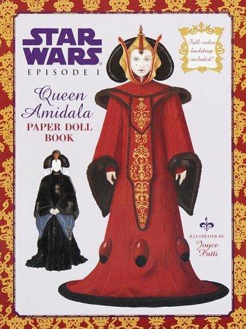 Star Wars Episode I Queen Amidala Paper Doll Book