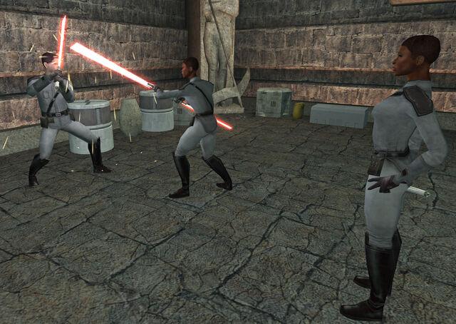 File:Sith Academy lightsaber training.jpg