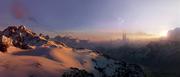 Alderaan mountains