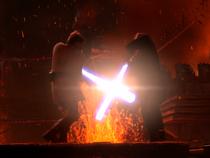 Kenobi Vader Mustafar