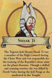 Fate of Shaak Ti
