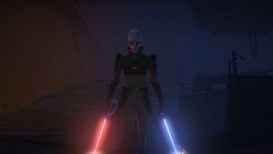 The Grand Inquisitor on Fort Anaxes