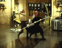 Theed duel stunts 1