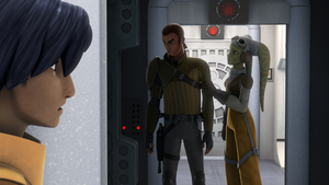 Kanan and Hera rebellion talk
