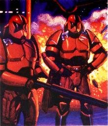 Coruscant Imperial Guards