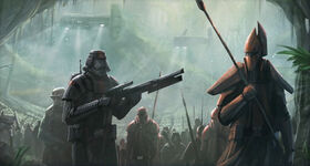 Sith army invasion