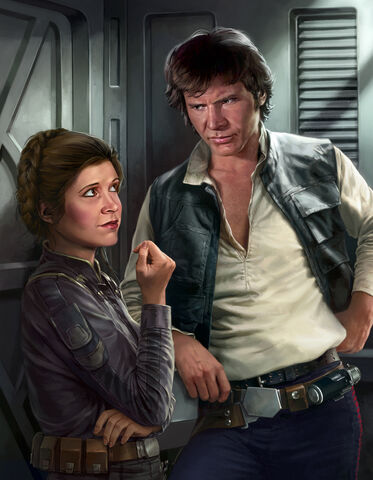 File:Han and Leia Razor Edge art by Trevas.jpg