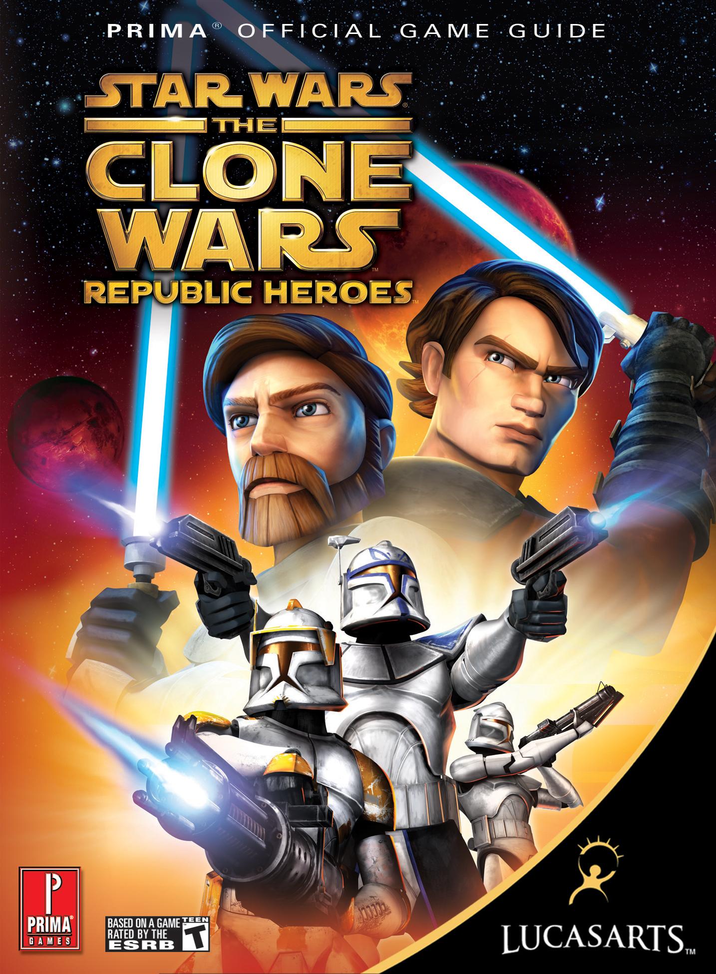 talkstar wars the clone wars republic heroes prima