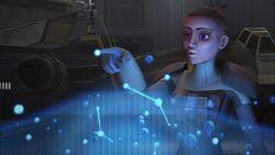 Yost system hologram