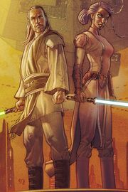 Qui-Gon and Tahl