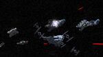 Fire Across the Galaxy Alderaan Cruisers