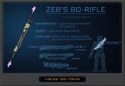 Zeb's Bo-Rifle Diagram