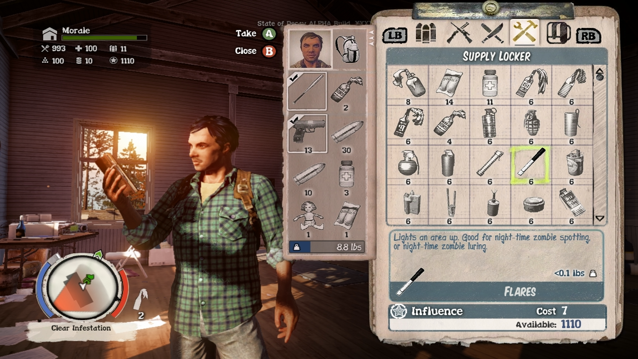 Inventory State Of Decay Wiki Fandom Powered By Wikia