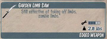 Garden Limb Saw