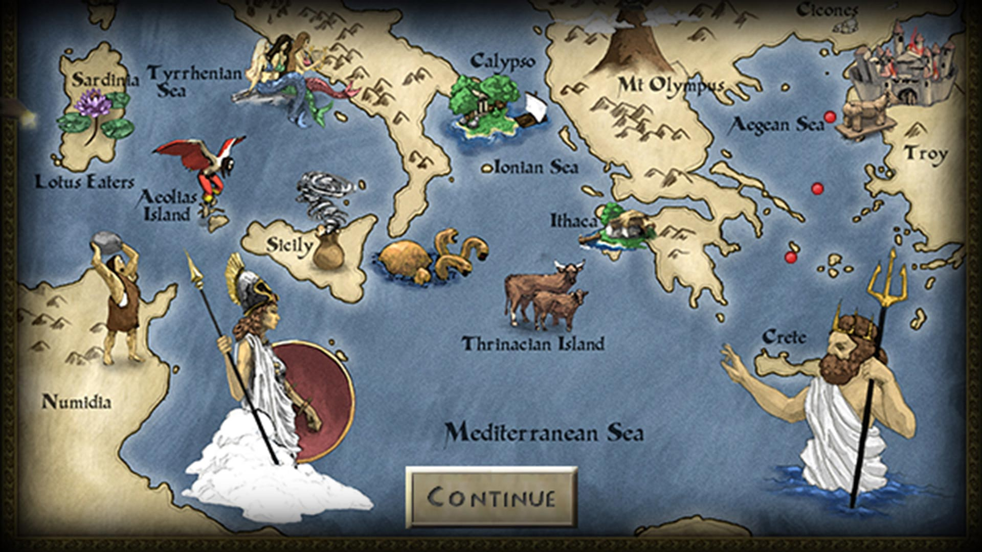 God Game : The Odyssey - Poseidon | Steam Trading Cards Wiki ...