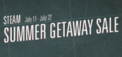 Steam Summer Getaway Logo
