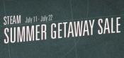 Steam Summer Getaway Logo