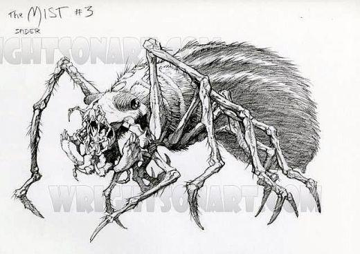 Image - Spider Art.jpg | Stephen King's The Mist Wiki ... It Stephen King Spider