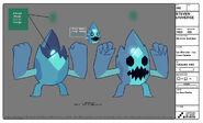 Ice Monster Model Sheet