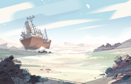 Future Ocean Gem Background