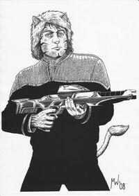 Captain Ebak Sison (Circa 2384)