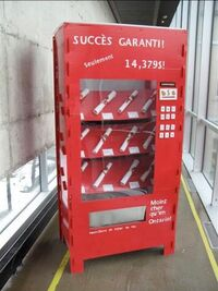 Diploma-vending-machine