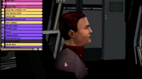 Star Trek Bridge Commander (Flight of the Aries)