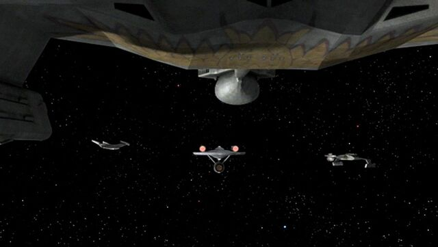 File:Romulans surround the Enterprise, TEI remastered.jpg