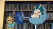 Stitch at library with rueban