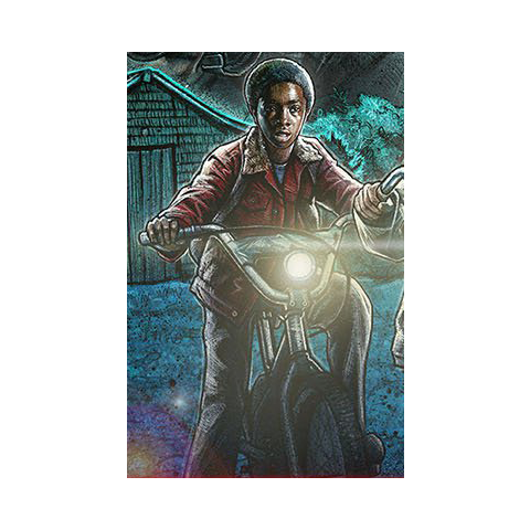 Lucas on the season one poster.