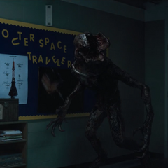The Monster in the classroom.
