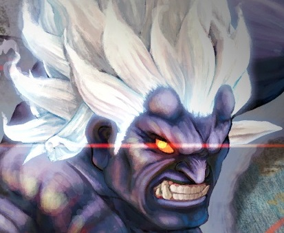 Oni Wallpaper Street Fighter oni(akuma) vs Piccolo