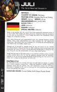 Udon SF WW Encyclo Juli Bio