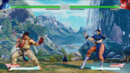 Street fighter V forgotten waterfall stage