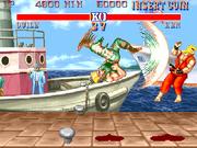 Street Fighter II (arcade) screenshot
