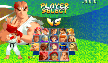 Street Fighter 2 Characters Names