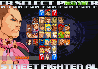 File:Street Fighter Alpha 3 PlayStation Select Screen.png