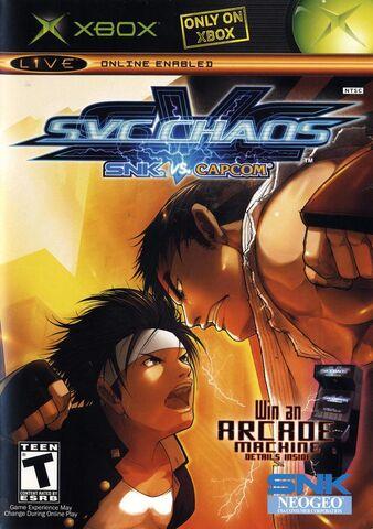 File:SNK vs. Capcom Chaos cover.jpg