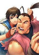 SF Legends Sakura Issue 4A by UdonCrew