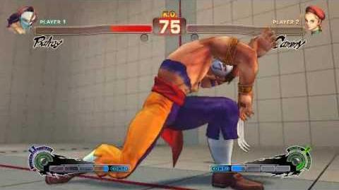 Super Street Fighter 4 - Vega Ultra 2 Splendid Claw