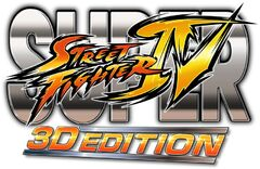 Super Street Fighter IV 3D Edition Logo