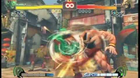 Street Fighter 4 All Supers
