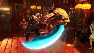 SFV Charlie throws Ryu