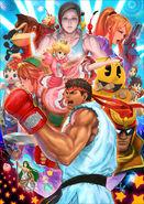 SSB4 Ryu Poster